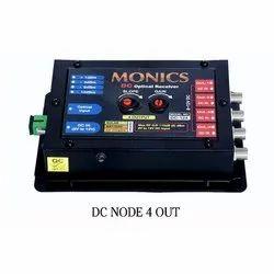 Black Monics DC Optical Node, For Cable Tv, 1