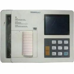 Technocare 6 Channel ECG Machine, 250 Patient, Digital