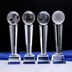 12 Inch Crystal Trophy