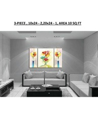 Stretched Canvas Prints Frame 3-Piece sets