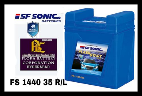 Small Car Battery 35r L