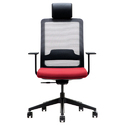 High Back Mesh Boss Chair