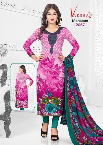 02c043984d Casual Wear Printed Synthetic Salwar Suit, Rs 350 /piece | ID ...