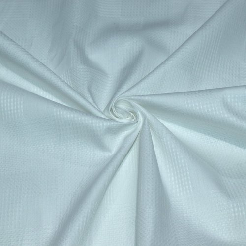White Cotton Dobby Fabric, GSM: 100-150