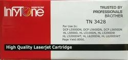 Brother TN 3428 (TN 3428) Compatible Black Toner Cartridge for Brother Printers