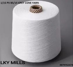 1/15 PV 85/15 Grey Cone Yarn 15/1 OR 15