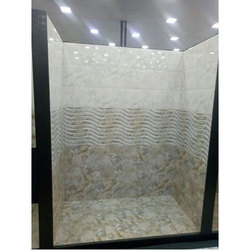 Porcelain Bathroom Wall Tile, Thickness: 10-15 mm