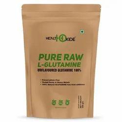 HealthOxide Pure Raw L-Glutamine 100 gm