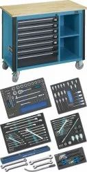 Mobile Work Bench With Commercial Vehicle Assortment