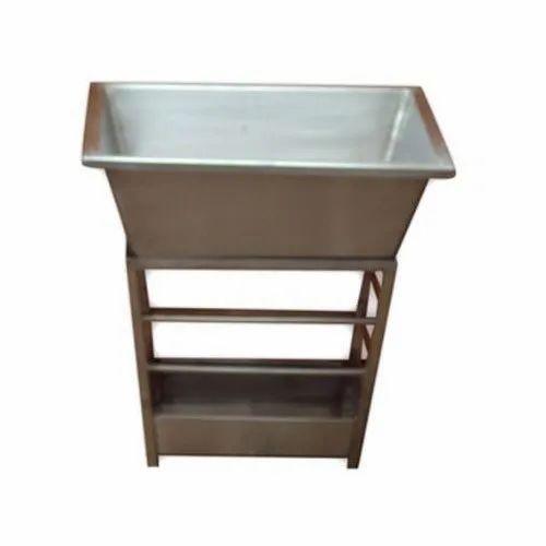 Stainless Steel Kitchen Waste Bin