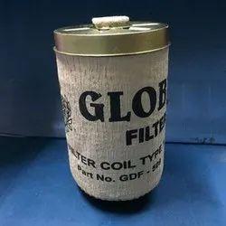 Globel Aluminium GDF - 503-509 Diesel Filter Big Set, For Automobiles