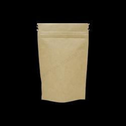 Kraft Paper Standup Zipper Pouch7x10