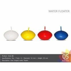 Oval (B) Water Floating Candles