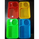 Plastic Snacks Plate