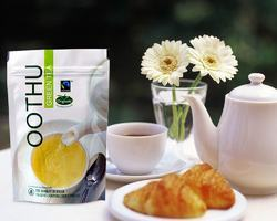 Oothu Green Tea Packaging Stand Up Bags