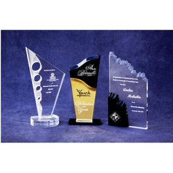 Madhav Enterprise Acrylic Glass Acrylic Laser Trophy