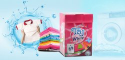 White Jasmine Detergent Powder, For Laundry, Packaging Size: 1 Kg