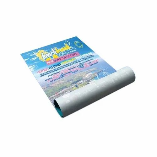 Customized Paper Poster Printing Service, in Pan India