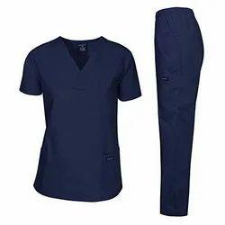 Navy Blue Medical Scrub Suit