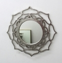 Aluminium Casted & Mirror & MDF Wall Decorative Hanging Mirror