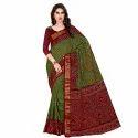 Ramapir Fashion Women's Wear Printed Bodar Saree