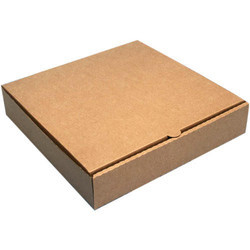 6 x 6 x 1.5 Inch Brown Paper Pizza Box