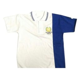 Half Sleeves Cotton School T Shirts