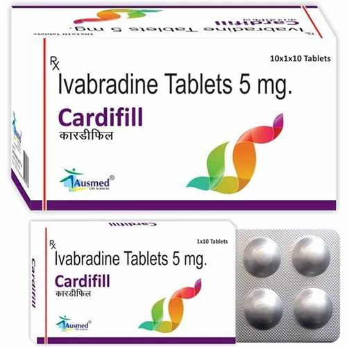 CARDIFILL lvabradine Tablets, for Clinical,Hospital, Packaging Type: Blister