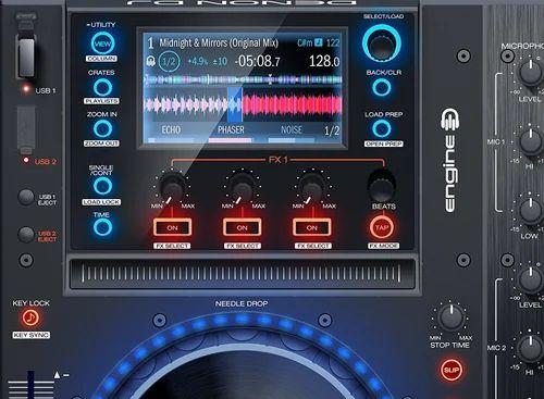 Denon DJ Player and Serato 4-Channel DJ Controller