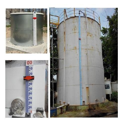 Rectangular tank Remote tank contents//level gauge