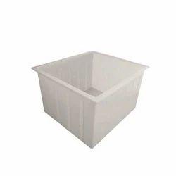White Roto Crates
