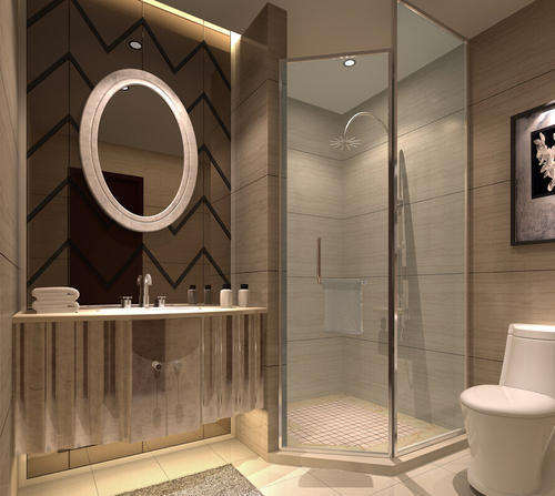 Complete Washroom Design And Interior In Sector 48