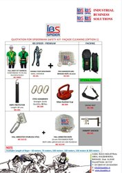 Spider Man Kit for Facade Cleaning (Option 1)