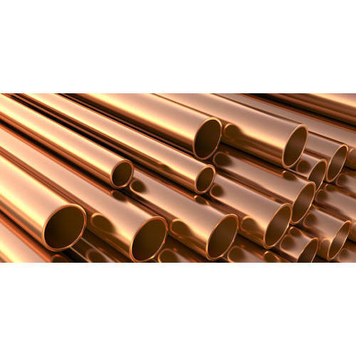 Brown And Green Copper Copperpipes Air Condition Refrigerator Oil Cooler Pipe Water