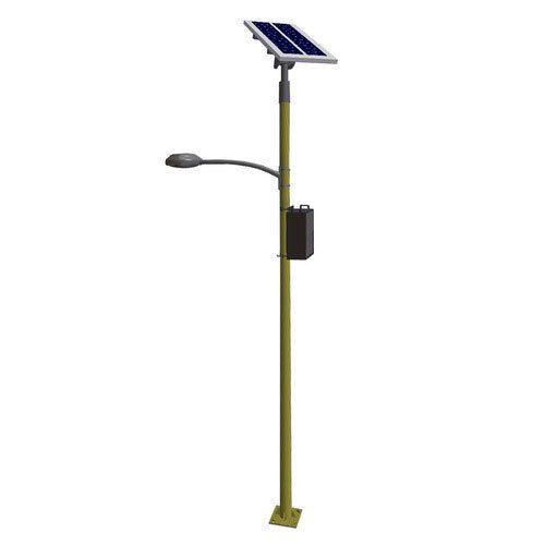 Mild Steel Solar Led Street Light Pole
