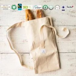Natural Recycle Organic Cotton Bread Bag