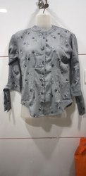 Designer Fancy Cotton Printed Top