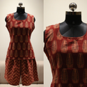 Ladies Casual Wear Georgette Printed Kurti