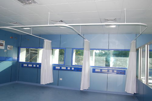 Also Available In Aluminum Hospital Curtain Track System