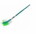 Double Hockey Plastic Toilet Brush