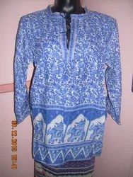 Cotton cusomize Traditional Printed Readymade Garments