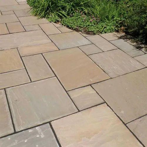 AB 01 Autumn Brown Sandstone Tiles