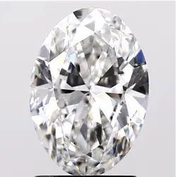 Oval Cut 1.50ct IGI Certified Diamond CVD F VVS2 Lab Grown Type2A