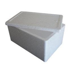 Rectangular Normal EPS Thermocol Pharma Box, For Insulation, Density: 18 kg/cubic-meter