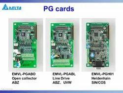 EMVL-PGABO Delta ABZ Open Collector Type 12V Output Encoder Feed Back PG Card for VFD-VL