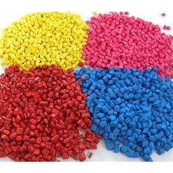 Colored Plastic Granules, Packaging Size: 25kg Bag