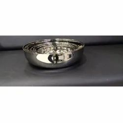 Round Stainless Steel Bowl, For Home, Size: 8 Inch