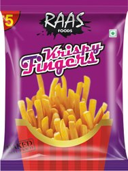 Raas Foods Corn And Rice Cripsy Fingers ( Square Shape Puff Sticks), Packaging Type: Packet