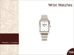 Greet n Gift SS Wrist Watch