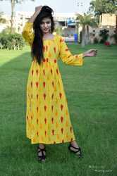 Sleeve Cotton Kurti